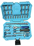 Best Socket Sets - Taparia SA46 Steel Socket Set (Blue, 46-Pieces) Review