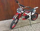 125ccm Dirtbike Pitbike 4 Takt 4 Gang Manuell 17/14 Zoll Rot 125cc Motor Cross Bike