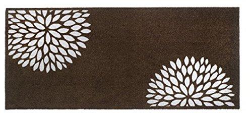 Sauberlaufmatte - 150 x 67 cm - Schmutzfangmatte - 17 verschiedene Motive - 30°C Waschbar - Rutschfest