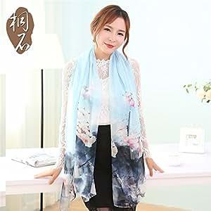 De Fashion Foulard Zhangyong Soie Mousseline En lKcu1J3TF