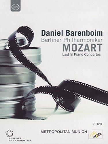 Daniel Barenboim spielt Mozart - Klavierkonzerte 20-27 [2 DVDs]