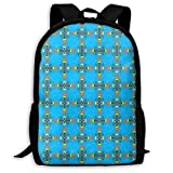 Homebe Sac à Dos,Cartable,Sac d'école Paddle Tiki Shark Waves Copyright 2017 Adult...