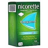Nicorette 2 mg whitemint Kaugummi