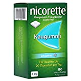 Nicorette 2mg whitemint 105 stk