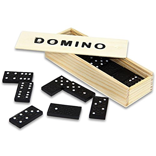 HC-Handel 910094 Domino Dominosteine in Holzbox...