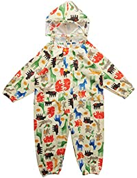 Vine Traje de Lluvia para niños Impermeable Pantalones Chubasquero Poncho Impermeable