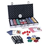 Casinoite 300 Pcs Diced Poker Chip & Bri...