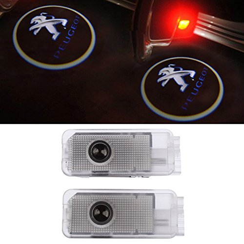 Preisvergleich Produktbild Inlink 2 pcs Door Light Car LED Courtesy Welcome Logo Light Lamp Shadow Projector