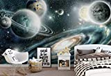 Planeten Im Weltall Fototapete Fotomural - Wandbild - Tapete - 254cm x 184cm / 2 Teilig - Gedrückt auf 115gsm Muralpapier - 11896P4 - Sterne & Weltraum