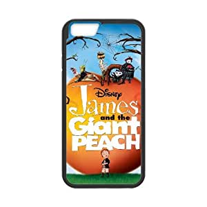 James And The Giant Peach coque iPhone 6 4.7 Inch cellulaire cas coque de téléphone cas téléphone cellulaire noir couvercle EEECBCAAH19028