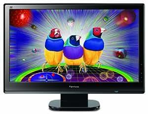 """Viewsonic VX2753mh-LED Écran LCD TFT rétroéclairage par LED 27"""" écran large 1920 x 1080 300 cd/m2 1200:1 30000000:1 (dynamique) 1 ms HDMI, VGA haut-parleurs noir brillant"""