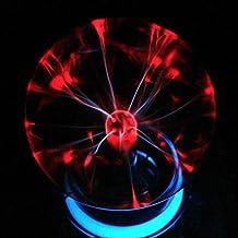 Egomall Luz sensible al tacto de la bola del plasma Bola mágica de la luz del relámpago de la esfera para las fiestas, las decoraciones, el apoyo, los cabritos, el dormitorio, el hogar y los regalos