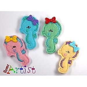 Seedferdchen Haarspange für Kleinkinder - freie Farbwahl