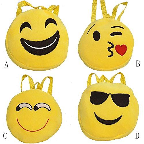 Imagen de esailq bolsos  de emoticon emoji lindo mini para adolescentes mujer niñas estudiantes d  alternativa