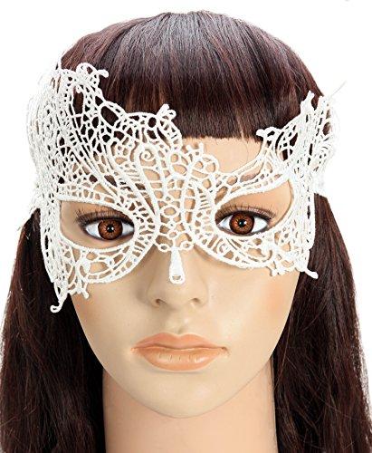 Starepe Women's Black Lace Augenmaske Maskerade Maskenball