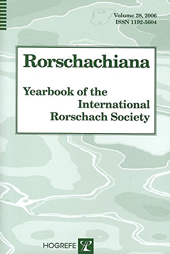 [(Rorschachiana: v. 28 : Yearbook of the International Rorschach Society)] [Edited by Sadegh Nashat] published on (January, 2007)