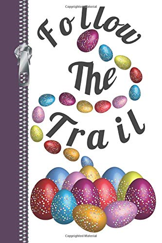 Follow The Trail: Easter Egg Hunt Sketchbook Writing Journal Combo Book -