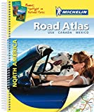 Michelin Straßenatlas Nordamerika mit Spiralbindung: USA Kanada Mexiko (MICHELIN Atlanten) -