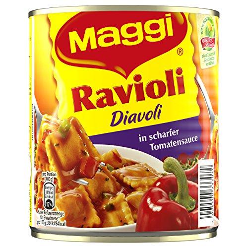 Maggi Ravioli Diavoli, 6er Pack (6 x 800 g Dose)