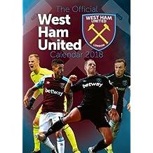 Official West Ham United FC Calendar 2018