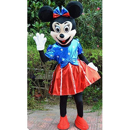Männliche Kostüm Cheerleader - Unbekannt Mickey Walking Doll Kostüm Cartoon Kostüm Prop Cartoon Performance Kostüm Maskottchen Activity Show Werbung Männlich Weiblich