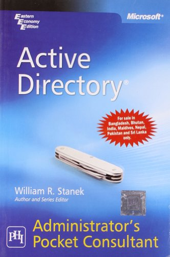 Active Directory: Administrator's Pocket Consultant
