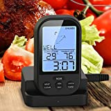 Matefield Wireless LCD Remote Thermometer for BBQ Meat Kitchen Oven Food Cooking