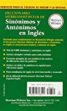 Image de Diccionario Merriam-Webster de Sinonimos y Antonimos En Ingles (Dictionary)