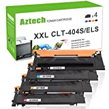 Aztech 4 Pack XXL Kompatibel für Toner Samsung CLT-404S CLT-K404S K404S CLT-P404C Toner für Toner Samsung C480W Toner C480W Toner Samsung C480FW Samsung Xpress C480W C480FW C480 C480FN SL-C480W Toner Samsung Xpress C430W SL-C430W C430 Farblaserdrucker Samsung