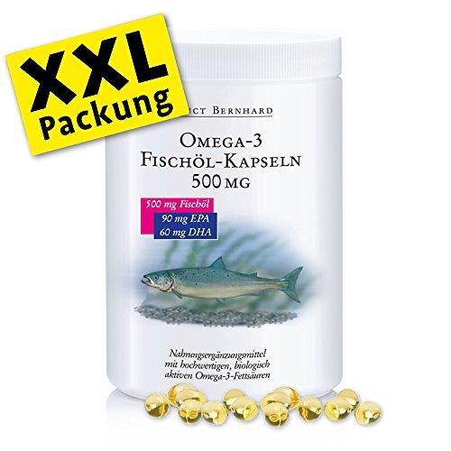 Sanct Bernhard Fischölkapsel Omega-3 XXL im Test
