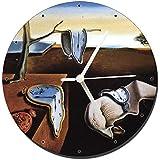 MasTazas Dali La Persistencia De La Memoria The Persistence of Memory Reloj de Pared Wall Clock