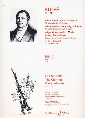 A la Portée du Jeune Clarinettiste Volume 1
