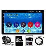 Panlelo C10C Android 6 Touchscreen Autoradio Rückfahrkamera 7 Zoll 2 Din Einbaut-Videogeräte Quad Core1G RAM + 16G ROM+16G SD Karte FM / AM / RDS Radio Wifi Multimedia Player Mirror Link GPS Navigation SWC BT WIFI