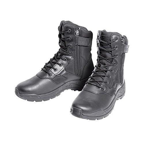 Chaussure d'intervention 2 Zips - GK Pro Noir