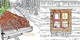 Der Mann und das Holz Ausmalbuch: Ein Buch zum Aus- und Weitermalen -