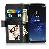 SOCU Housse Samsung Galaxy S8 Plus, Flip Bookstyle Housse Étui Coque de Protection...
