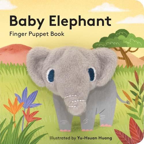 Baby Elephant: Finger Puppet Book (Finger Puppet Books)