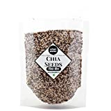 #9: Urban Platter Black Chia Seeds, 400g [Rich in Antioxidants & Omega-3 Fatty Acids]