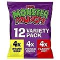 Mega Monster Munch Variety Snacks, 12 x 22 g