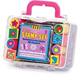 Tobar Mini Stamp Set with an Inked Pad-assorted design