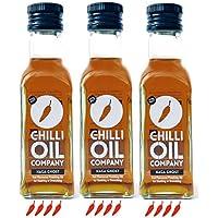 The Chilli Oil Company Naga Chilli Oil, Pack of 3