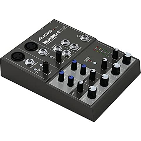Alesis Multi-Mix 4 USB Four-Channel USB
