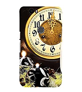 99Sublimation Midnight Clock 3D Hard Polycarbonate Back Case Cover for Huawei Nexus 6P :: Huawei Google