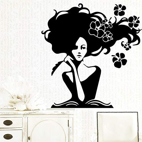 haochenli188 Lustige Belle Wandaufkleber Personalisierte Kreative Für Kinder Wohnzimmer Dekor Wohnkultur Wandkunst Aufkleber Wandbilder 58 * 60 cm