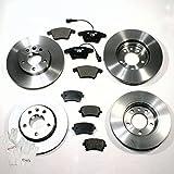 Autoparts-Online Set 60006672 Bremsscheiben 1ZB + 1KT/Bremsen + Bremsbeläge Vorne + Hinten