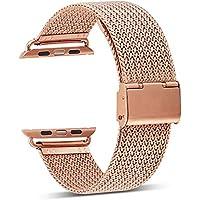 Hunpta@ Uhrenarmband Für Apple Watch Serie, 3/2/1 Milanese Edelstahl iWatch Band Strap 38MM