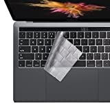 i-Buy Ultra Thin Clear TPU Keyboard Cover Film for Macbook New Pro 13&15 with Touch Bar(2016 Release)[EU Keyboard Layout]- TPU Clear immagine