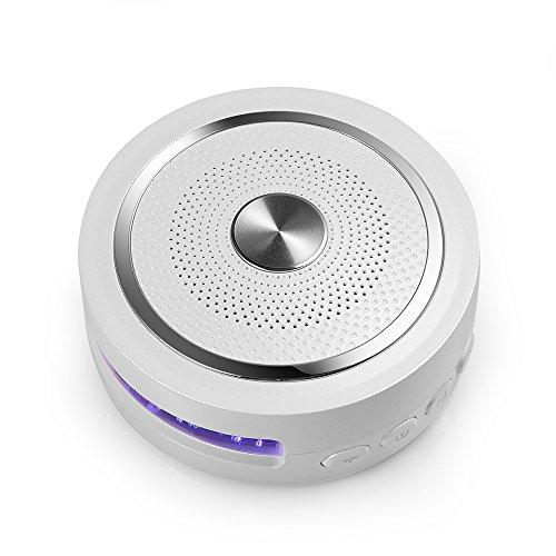 GOLDEN FIELD D20 Kabellose tragbare Bluetooth 4.2-Lautsprecher Boxen mit Mega-Bass, Multi-Farben-LED, AUX-Line, TF-Kartensteckplatz, Freisprechen für Anrufe für iPhone, iPad, Android, Samsung,Tablette - Ipad Lautsprecher Tragbar Bluetooth