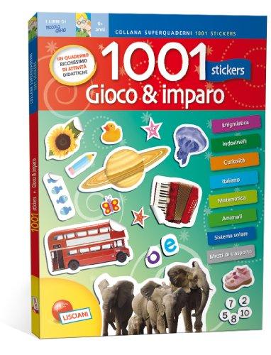 1001 stickers. Gioco & imparo