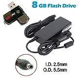 Battpit Ordinateur portable AC Adaptateurs Secteur / Chargeur Pour Asus X751L Avec lecteur Flash USB 8GO GRATUIT